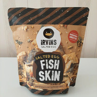 Irvins salted egg fish skin 105gr