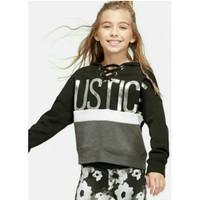 Sweatshirt Hoodie Justice Anak logo Justice