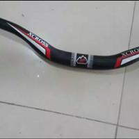 Stang XCROSS Hitam MTB Sepeda Handbar handlebar Oversize OS panjang 72
