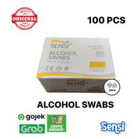 Sensi Alcohol Swabs isi 100 pcs