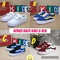 Sepatu Anak Vans cowok Cewek Best Saller Sneakers Anak kids