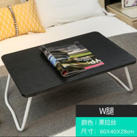 meja laptop lipat / meja kayu / meja belajar