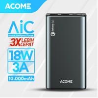 acome powerbank 10000mah QC 3.0. garansi 18 bulan Original 100%