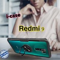 Case Redmi 9 Hybrid iring Stand Clear casing cover xiaomi redmi9