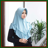 JILBAB JERSEY HANA JILBAB INSTANT BY RYAN COLLECTION