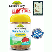 Nature's way Daily Probiotic vita gummies for adults 80tab