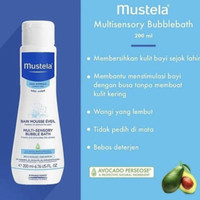mustela bubble bath 200ml
