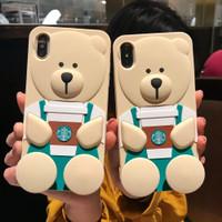Case IPHONE 6S 6 7 8 Plus 11 Pro Max 11 Casing Silikon Cute Lucu Unik