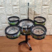 Mainan Anak Jazz Drum - Drum Mini Edukasi Alat Musik