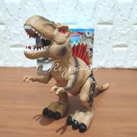 Mainan Anak Dinosaurus Tirex Robot Tyrex Berjalan
