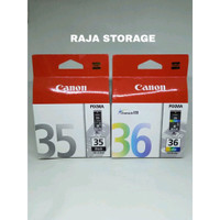 Canon 35 plus 36 Paket Tinta Cartridge untuk Printer Canon IP100 IP110