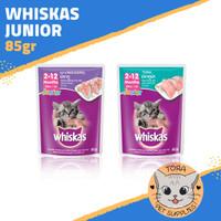 Whiskas Sachet / Pouch 85gr junior - Makanan Kucing Basah