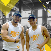SINGLET FITNES M1 MUSCLE FIRST MUSCLEFIRST M1 KAOS GYN