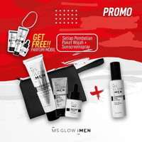 Ms Glow for Men paket lengakp original
