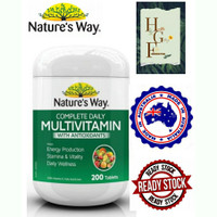 Nature's way Complete daily Multivitamin WithAntioxidants 200tab