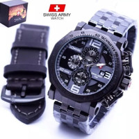 jam tangan swiss army SA 119 box original bonus tali kulit original