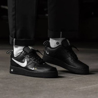 Sepatu Nike Air Force 1 LV8 07 Utility Black - Premium Import