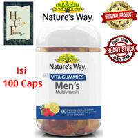Nature's way Adult vita gummies Men's Multivitamin 100 soft gummies