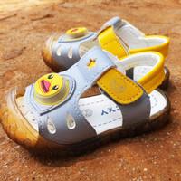 Sepatu Anak Import 418-B Yellow1a