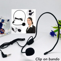 Microphone clip on Bando