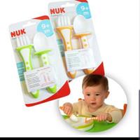 NUK Training Cutlery Set / Sendok Garpu Anak / Training Spoon 9m+ 9m