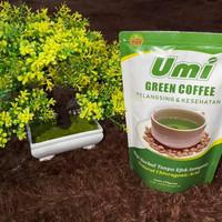 Kopi Pelangsing Herbal Umi Green Coffee/kopi hijau/pelangsing/diet