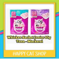 Whiskas junior Sachet 85gr makanan basah Anak kucing murah