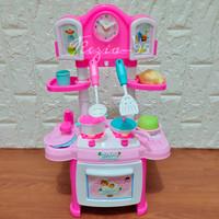 Mainan Masak Masakan Anak Kitchen Set Magic