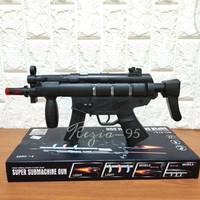 Mainan Anak Tembakan Super Combat Arms Suara dan Lampu