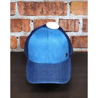 New Kalibre- Topi Kalibre Original-Topi Pria Kalibre Asli 991493-Blue