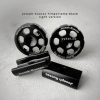 JOSEPH KUOSAC hinge clamp light version black for brompton