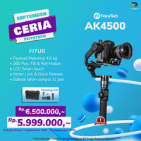 Feiyu AK4500 Basic 3-Axis Handheld Gimbal Stabilizer Kamera
