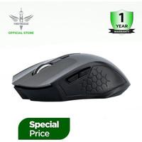 NYK Nemesis Mouse Gaming Wireless Scorpio - Abu-abu