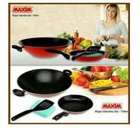 MurMer!! Maxim New Vxxentino wajan teflon set maxim Limited