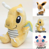 Boneka Pokemon Dragonite 15 cm / Boneka Anak Naga