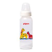 Pigeon Peristaltic Nipple Round Nursing Bottle Botol Susu Bayi (240ml)