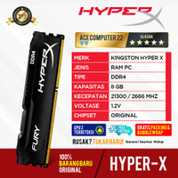 RAM KINGSTON HYPER X GAMING DDR4 8GB LONGDIMM