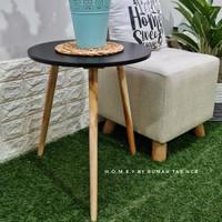 coffee table / meja bulat / side table / meja sudut