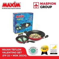 MurMer!! Maxim Vxxentino 2 Set - Frypan 22 cm Wajan 30 cm Limited