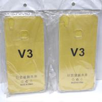 Anti Crack Vivo V3 Silicon Jelly case Bening Tipis