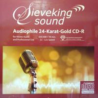 Sieveking sound cd-r GOLD 24K cd kosong