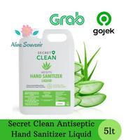 Secret Clean Antisptic Hand Sanitizer liquid / cair 5lt