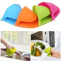 Sarung Oven Tangan Silikon Silicone Gloves Anti Panas kitchen Jampel