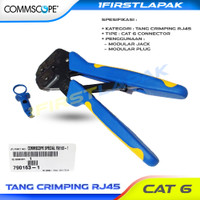Tang Crimping RJ45 UTP FTP CAT 6 Crimping Tools Konektor AMP Commscope