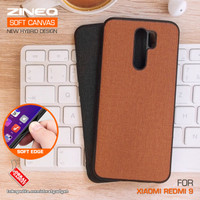 Soft Canvas Case Xiaomi Redmi 9 Softcase Hard Silikon Casing Cover Gel
