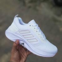 Sneakers wanita Adidas Zoom Sepatu Wanita Abu Tosca BNIB