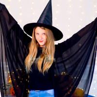 Topi Penyihir / witch hat / prop cosplay / topi halloween / wizard hat