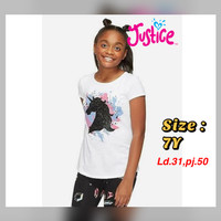 Kaos Anak Perempuan 7 tahun branded sisa eksport baju santai murah