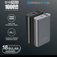 ACMIC C10Pro 10000mah power bank dual usb fast chaging quick charger
