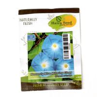 isi 10 Benih Bunga Morning Glory Heavenly Blue Merambat Haira Seed